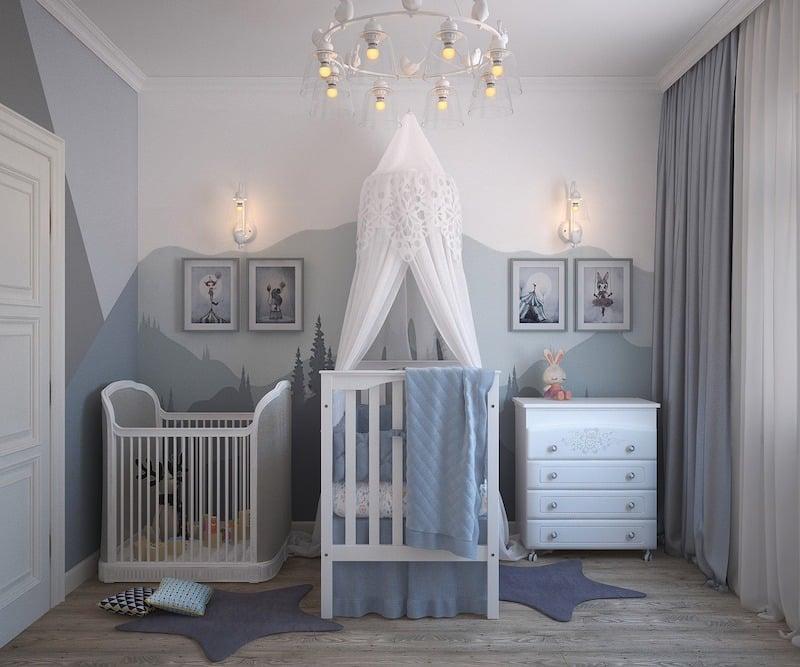 Cinq avantages de choisir une chambre évolutive pour son bébé