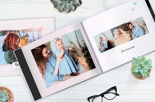 Faire plaisir à un être cher en lui offrant un livre photo personnalisé