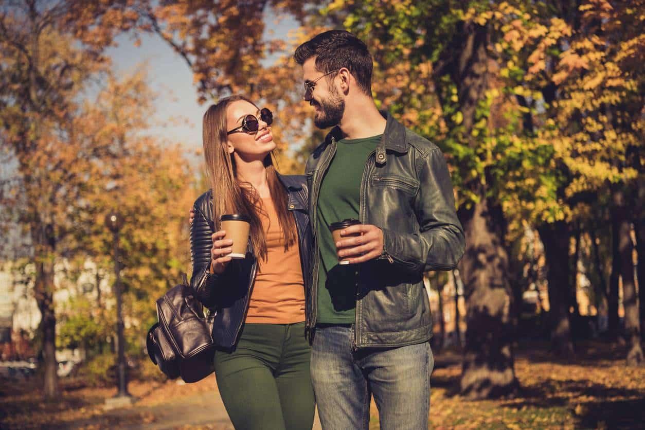 sac à dos cuir couple style urbain