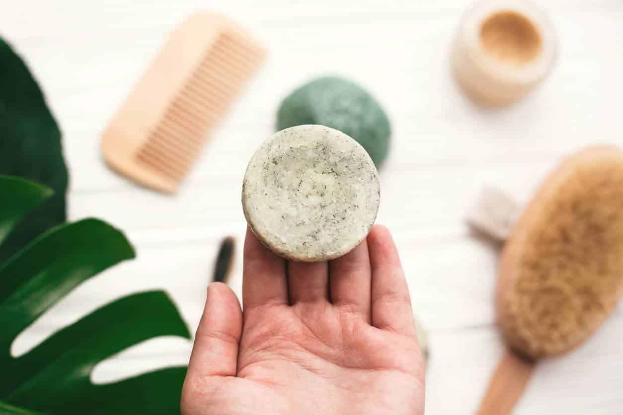 shampoing solide huile d'argan rhassoul