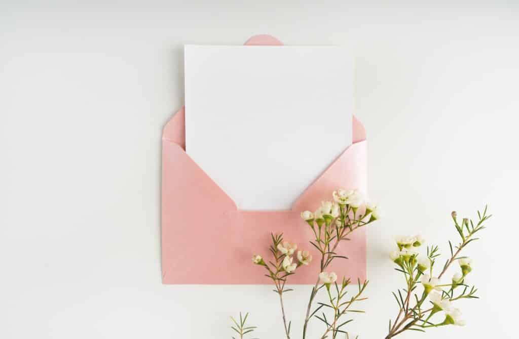 Comment rédiger une carte de remerciements?